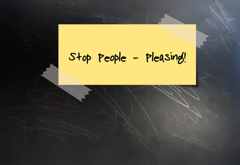 yellow paper says stop people pleasing